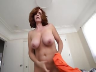 mature Son's Point of View redhead