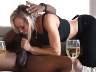 blond My Noisy Neighbor -Brandi.. blowjob